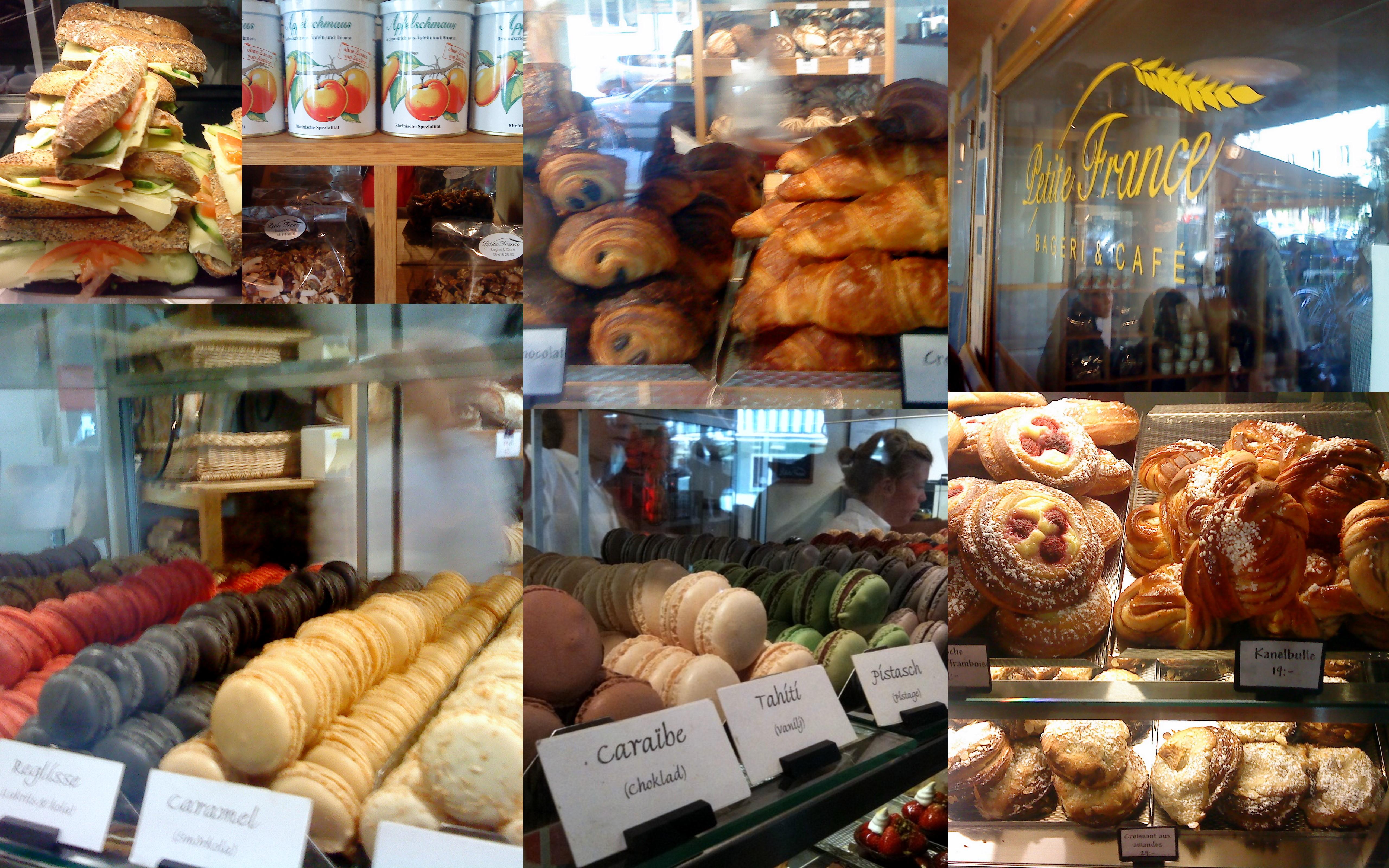 Petite France café