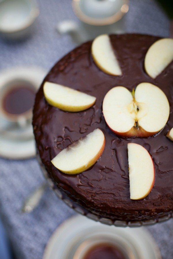 Annas chokladtårta recept