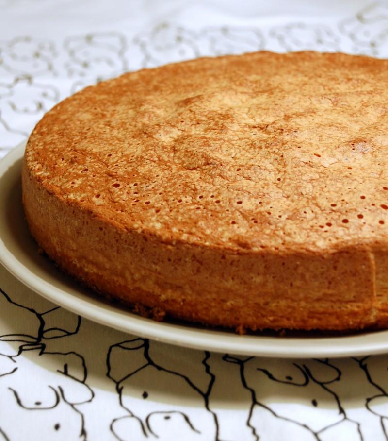 En tårtbotten till en tårta