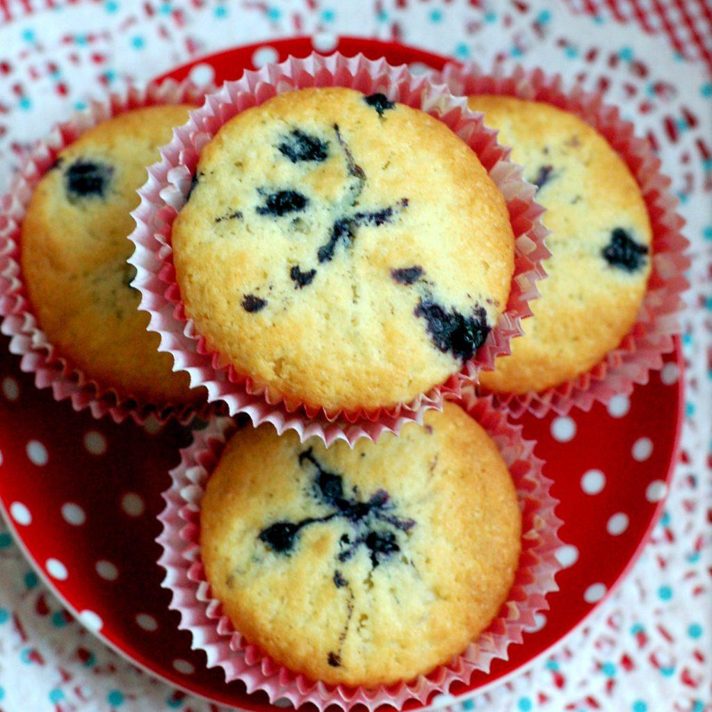 Blåbärsmuffins recept