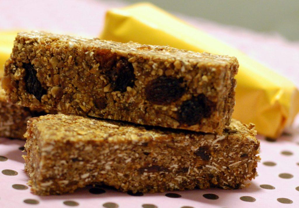 Recept på power bars – nyttiga sötsaker