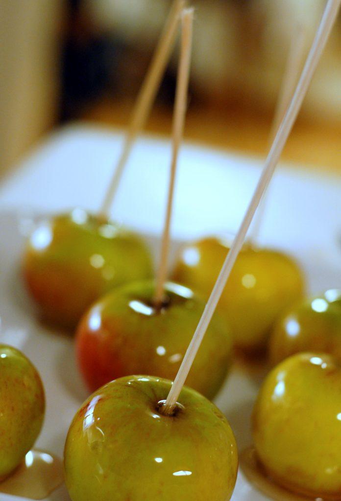 Nyttiga godsaker – sirapsäpplen