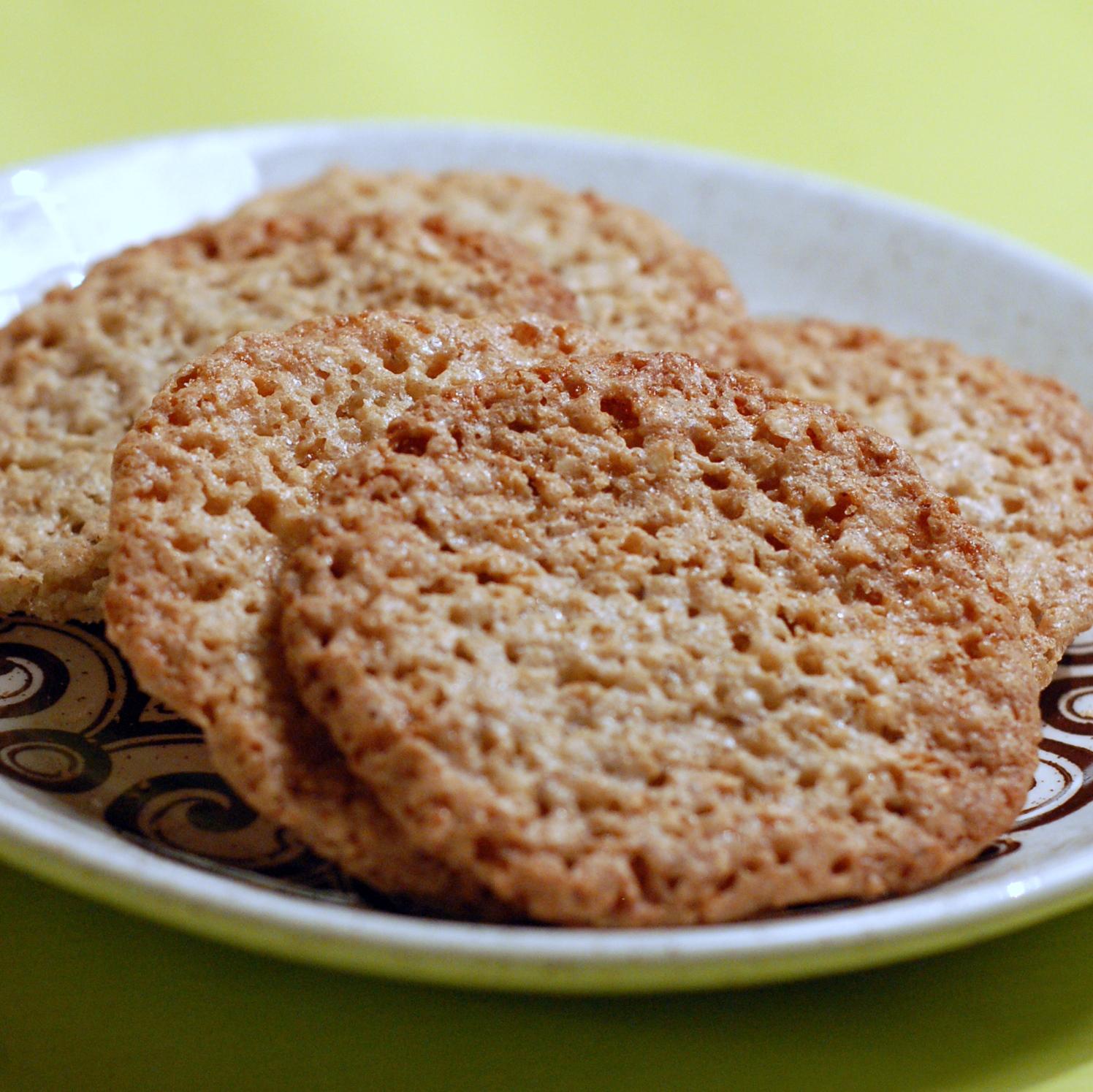 glutenfria småkakor med mandelmjöl