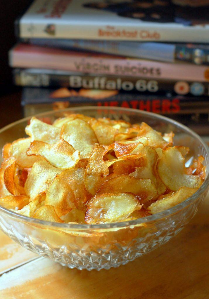Hemmagjorda potatischips recept