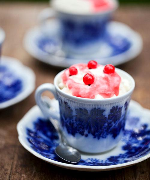 Recept på desserter och efterrätter