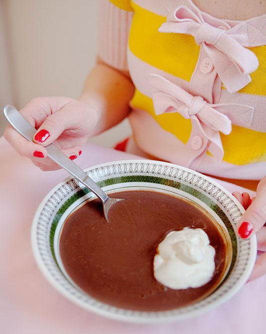 chokladsoppa