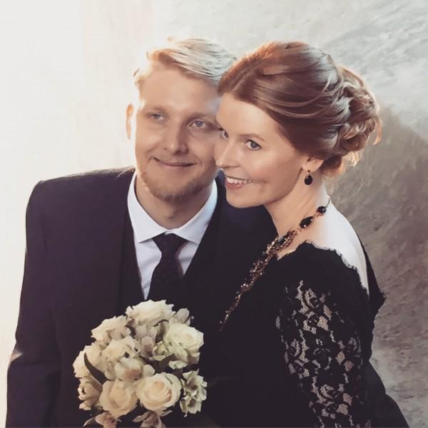 Igår gifte vi oss!