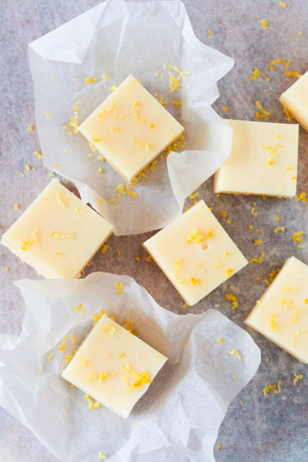 Citronfudge recept
