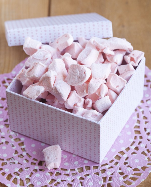 Recept på minimarshmallows