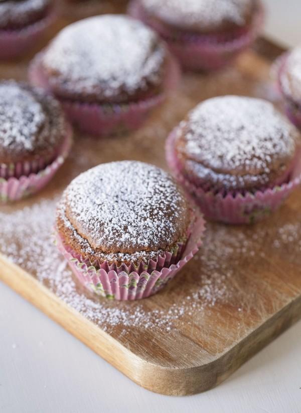 Enkla muffins på två ingredienser