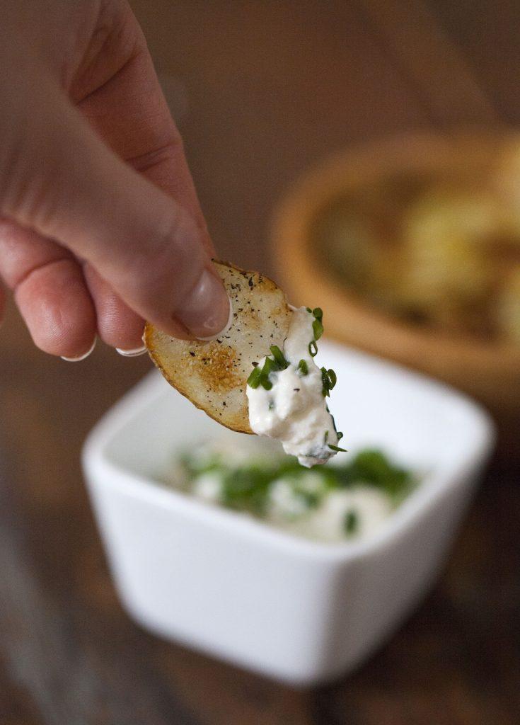 sourcream and onion dipp