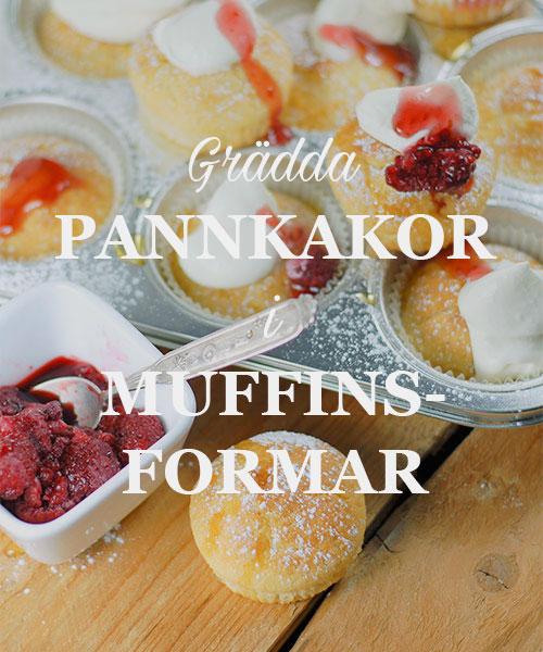 Pannkakorimuffinsform