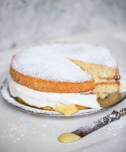 Recept på tårta