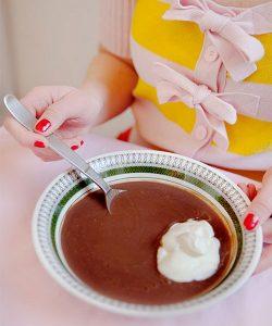 recept på chokladsoppa