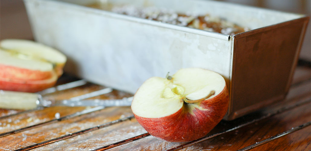 recept på glutenfri äppelkaka