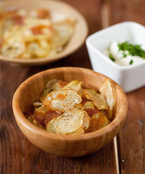 Recept på chips och snacks