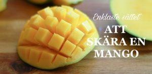 hur man skär en mango