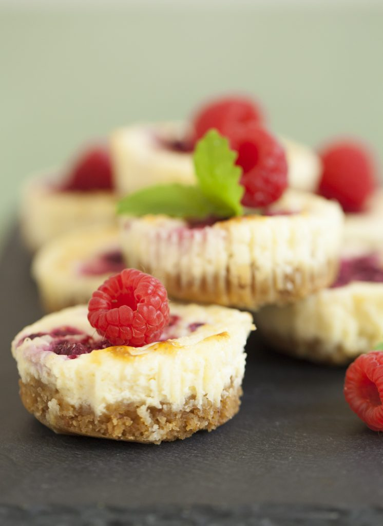 Recept på cheesecake i muffinsform