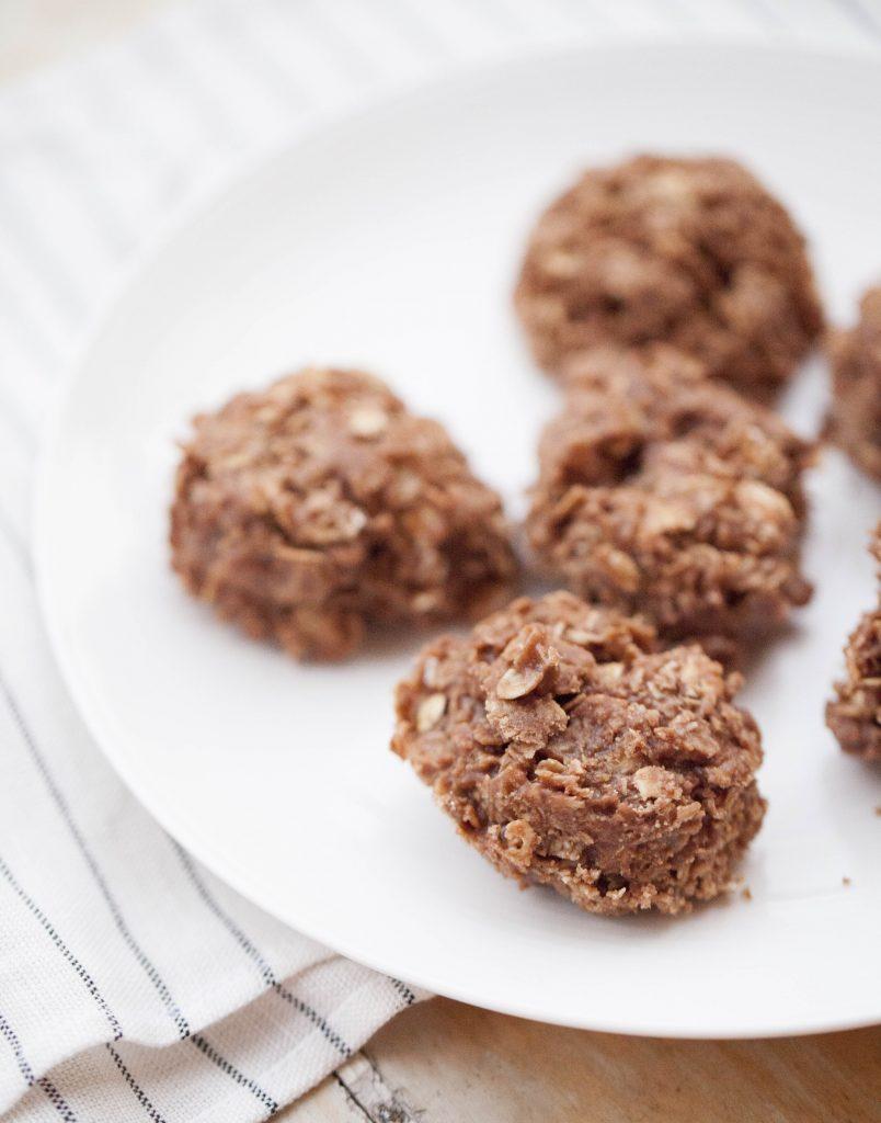 Kakor som bakas utan ugn. Chokladkakor recept.