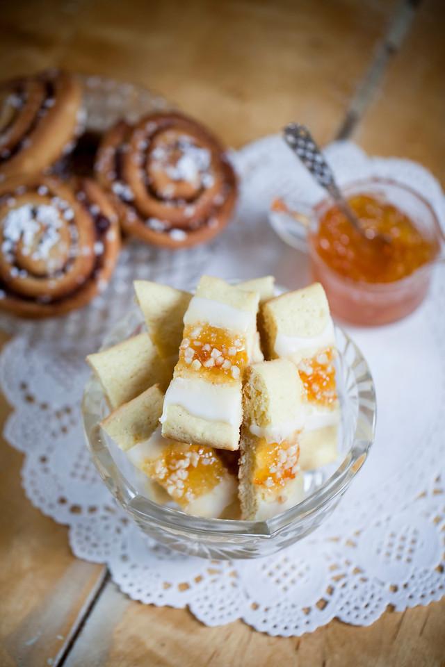 marmeladkakor recept