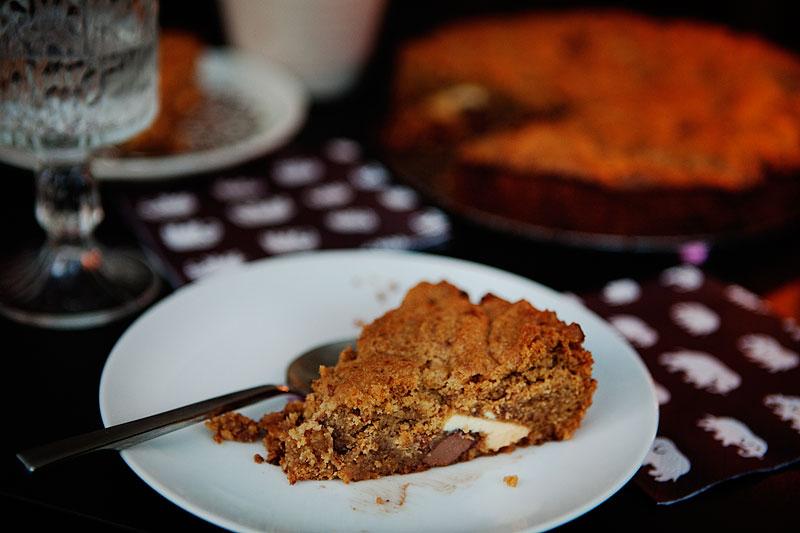 Chocolate chip cake recept