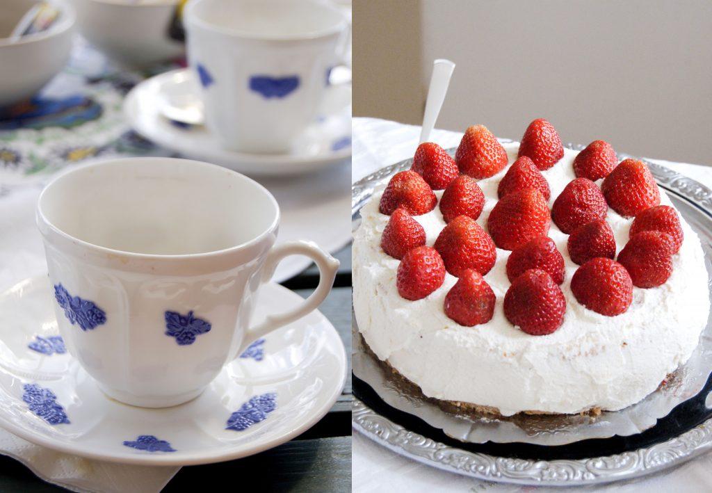 jordgubbstårta recept
