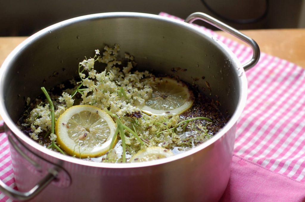 Lavendelsaft recept