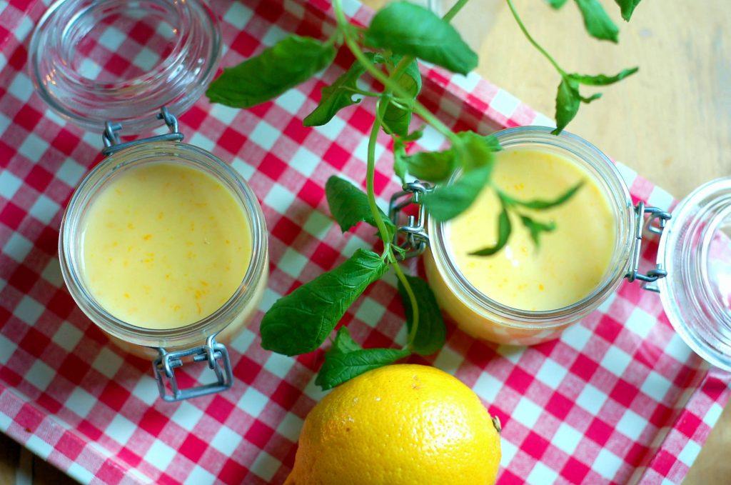 Orange curd recept