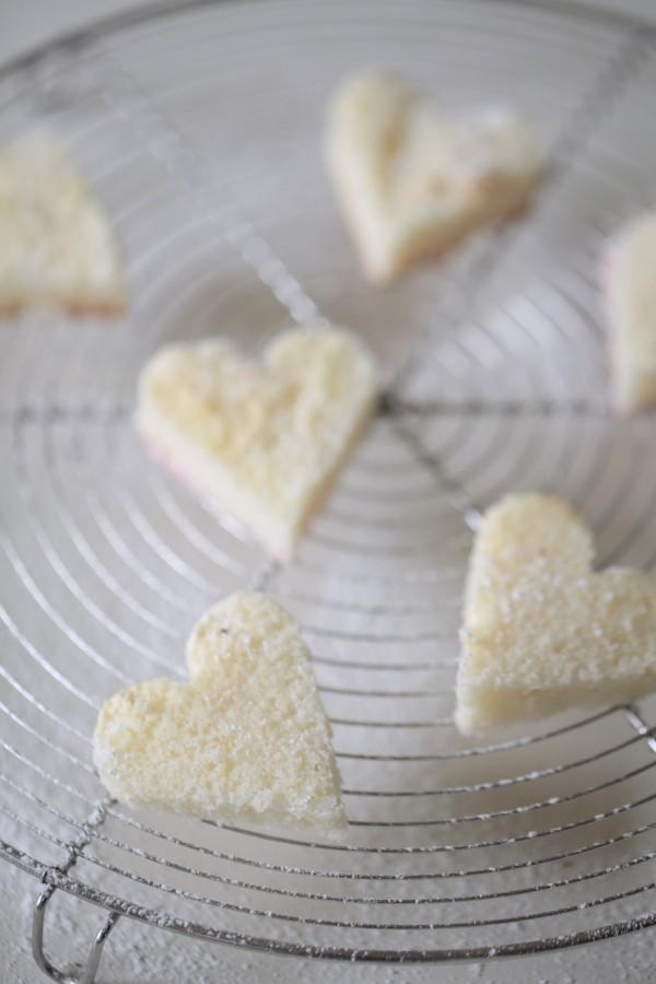 Sockerhjärtan recept
