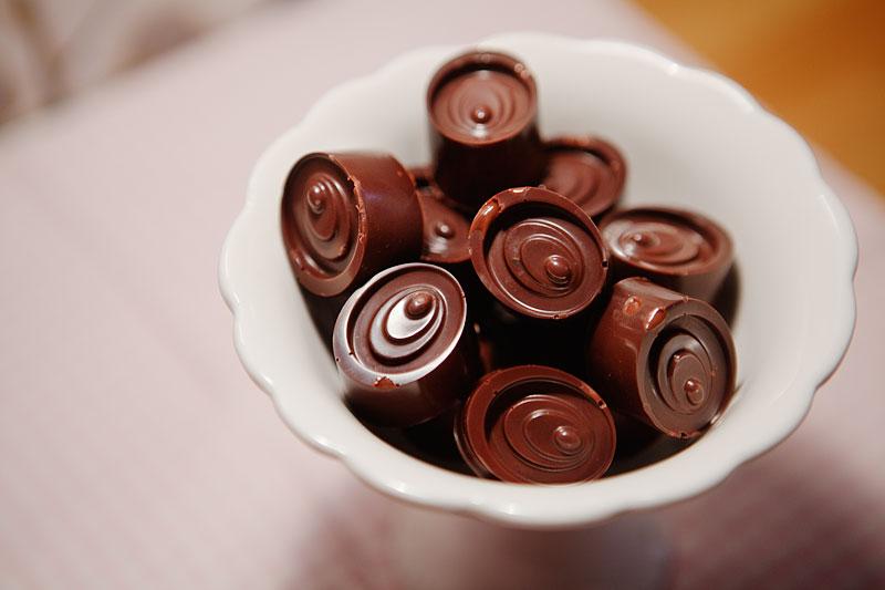 Att temperera choklad