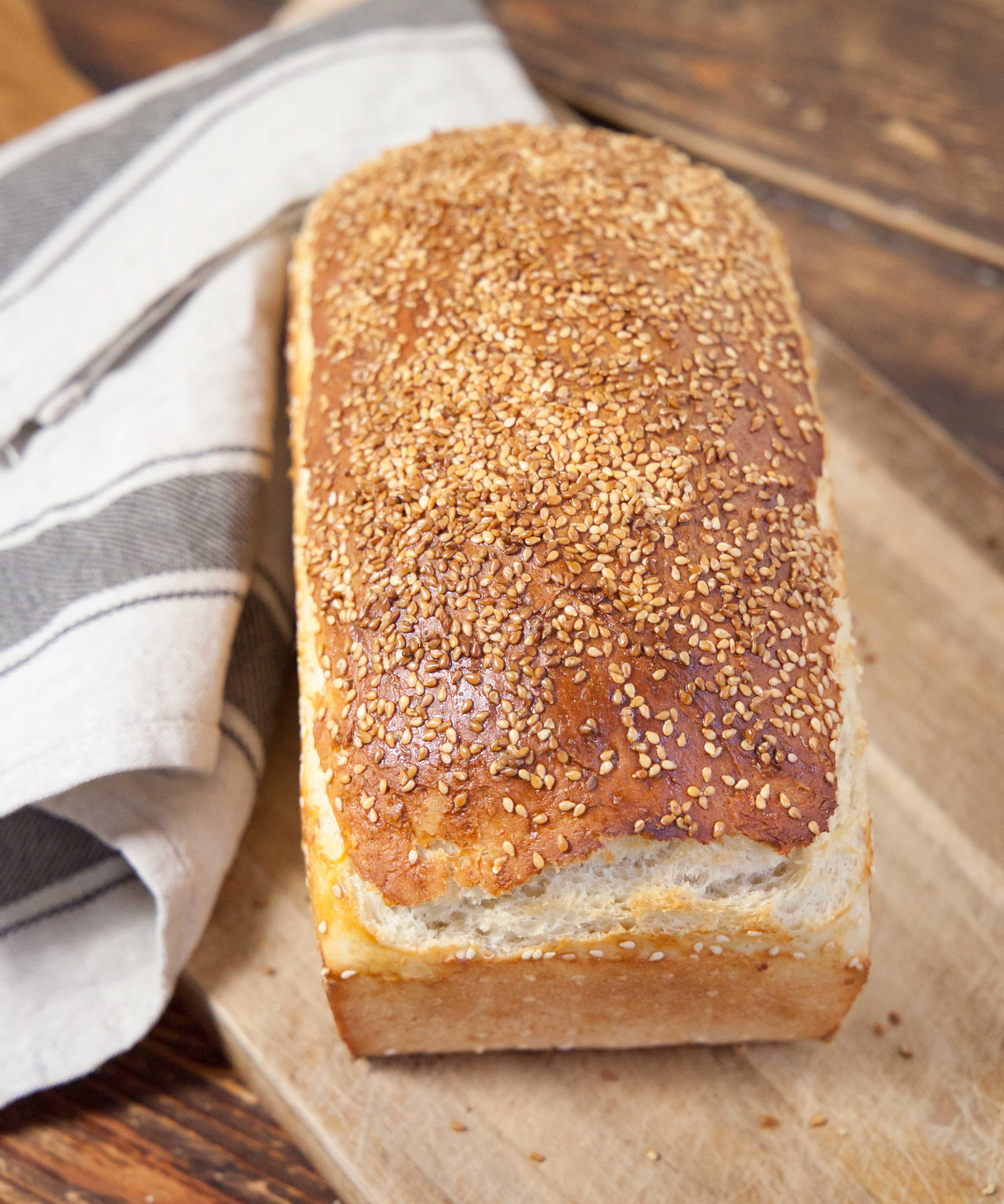 baka bröd i form