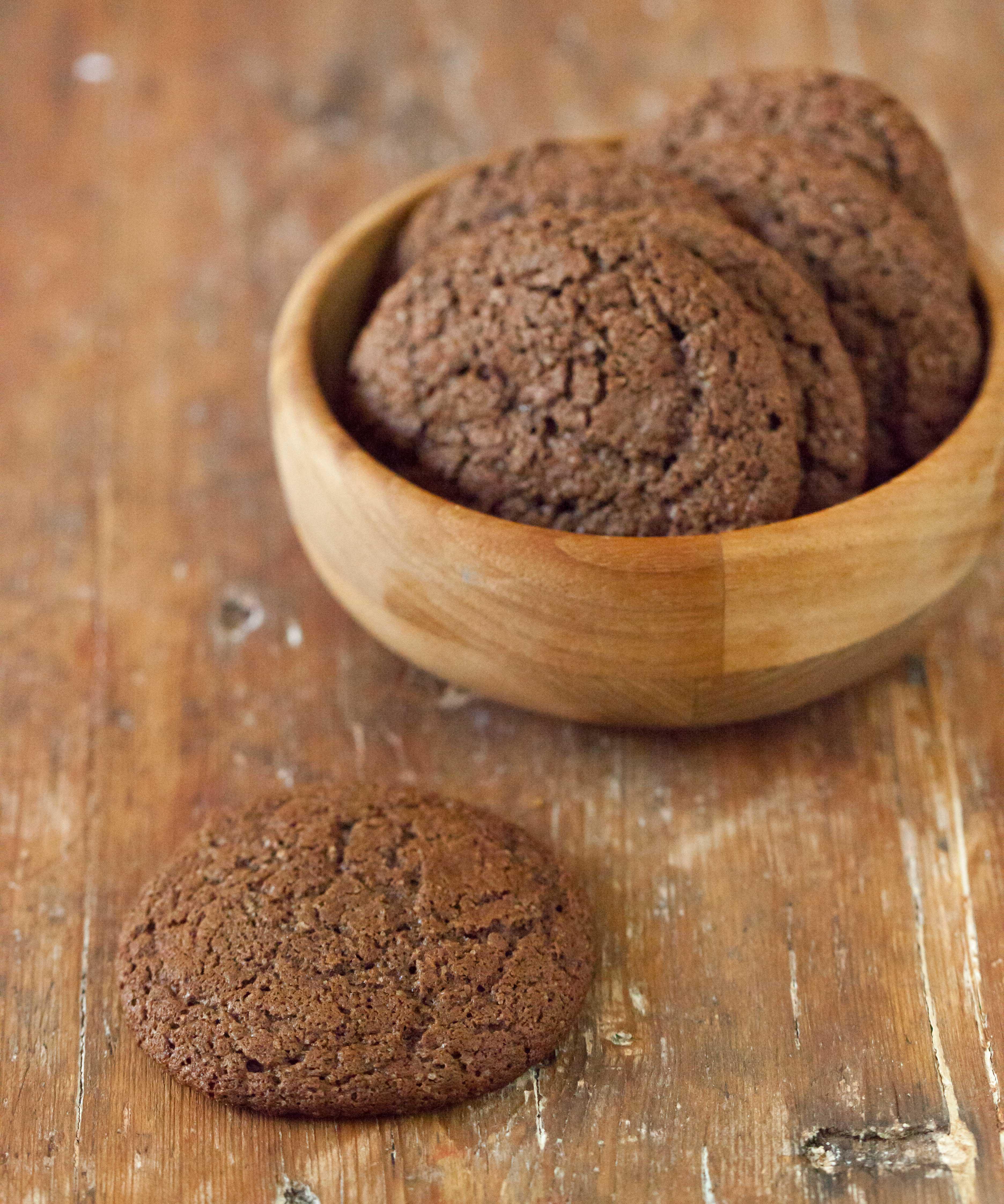enkla småkakor choklad