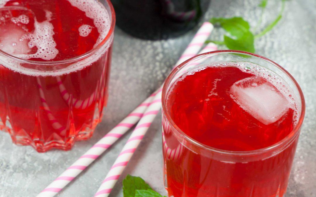 Röd vinbärssaft