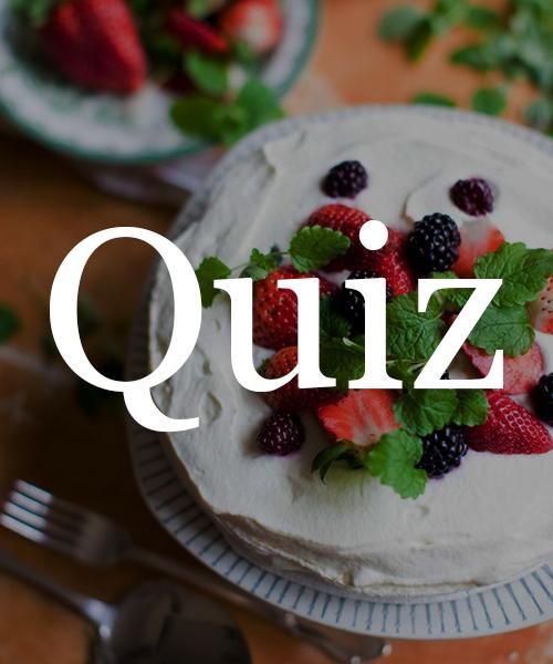 Quiz: Vilken kaka är du?